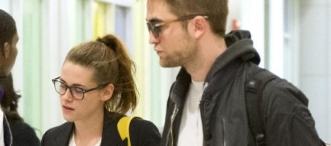 Galeria: Kristen e Robert chegando em NY.