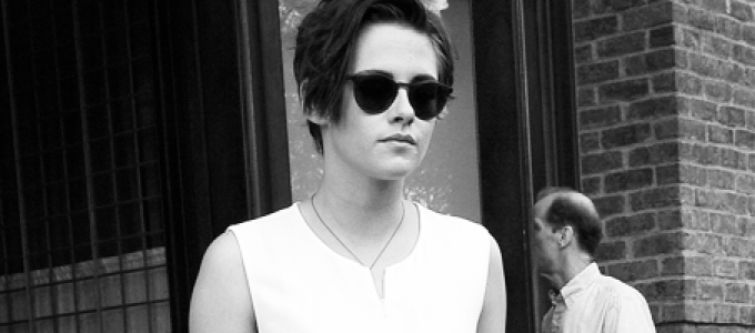 CANDIDS: Kristen deixando seu hotel hoje