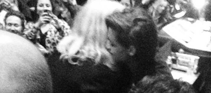 Galeria: Kristen no show de Patti Smith em Los Angeles