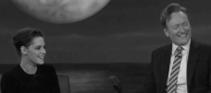 Vídeo Legendado: Kristen Stewart no Conan O'Brien