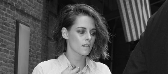 Candids: Kristen deixando seu hotel em Nova York