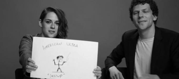 Vídeo: Kristen e Jesse Eisenberg em entrevista para o Buzzfeed