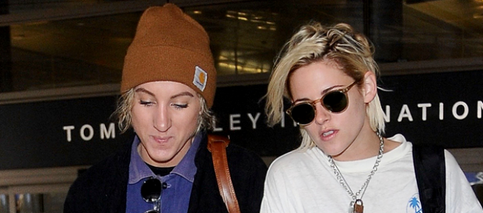 Galeria: Kristen e Alicia no aeroporto de Los Angeles