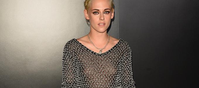 Kristen comparece ao lançamento do perfume Chanel No5 L'Eau