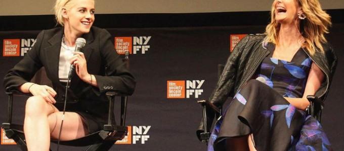 Kristen comparece ao Q&A de Certain Women no New York Film Festival
