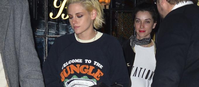 Galeria: Kristen saindo para jantar em Nova York