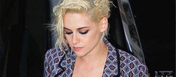 Galeria: Kristen saindo de seu hotel em NY