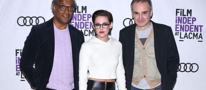 Kristen comparece ao screening de Personal Shopper no LACMA