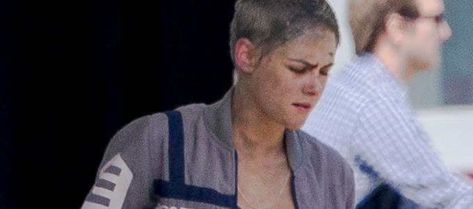 Kristen aparece nas primeiras fotos das filmagens de Underwater