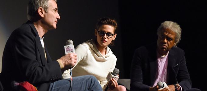 Kristen e Olivier Assayas participam de Q&A de Personal Shopper no LACMA