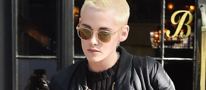 Galeria: Kristen deixando seu hotel a caminho do Stephen Colbert