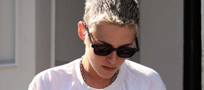 Galeria: Kristen deixando o restaurante Gracias Madre