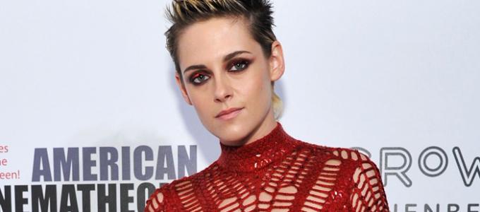 Kristen comparece ao American Cinematheque Award em homenagem a Amy Adams
