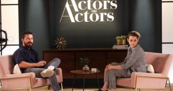 Kristen Stewart e Shia LaBeouf conversam no Actors on Actors da Variety