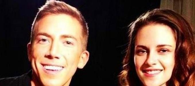 Nova imagem de Kristen na conferência de imprensa de OTR em NY