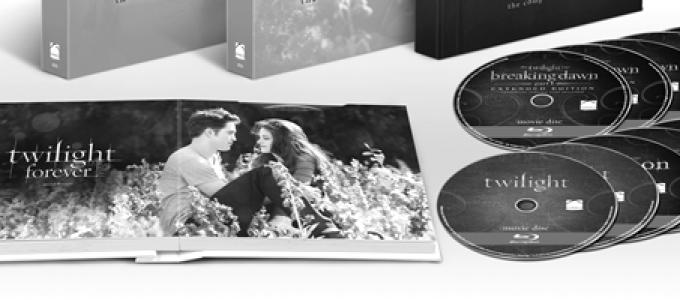 Twilight Forever: Novo box da saga disponível dia 5 de Novembro