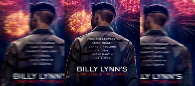 Teaser trailer + Poster de Billy Lynn's Long Halftime Walk