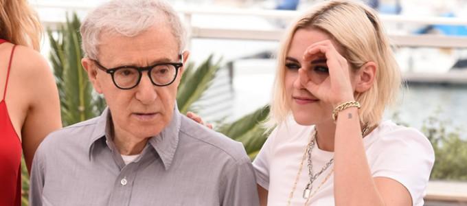 Kristen e Woody Allen falam sobre Cafe Society