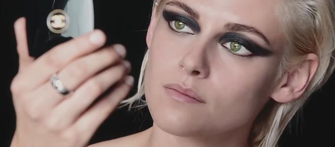 Vídeo: Kristen para a campanha de maquiagem da Chanel!