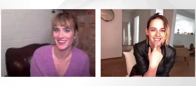 VÍDEO LEGENDADO: Kristen Stewart e Mackenzie Davis brincam em novo vídeo para a Marie Claire