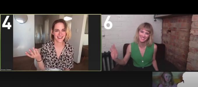 VÍDEO LEGENDADO: Kristen Stewart e Mackenzie Davis brincam de 'Conheça o Personagem'